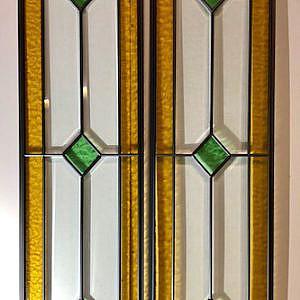Glas in lood raam 270x1160mm