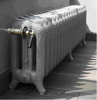 RETRO RADIATOR, 250X470X780MM