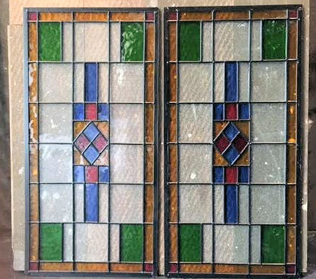 Glas in Lood 30x60cm
