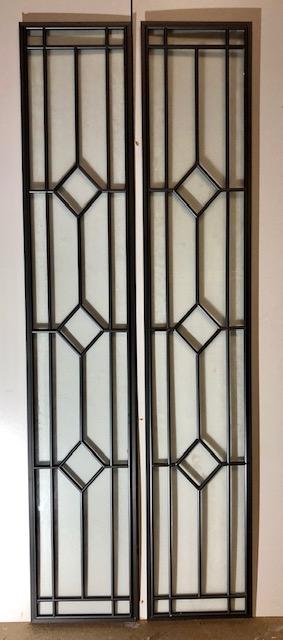Glas in lood ramen 215x1055mm