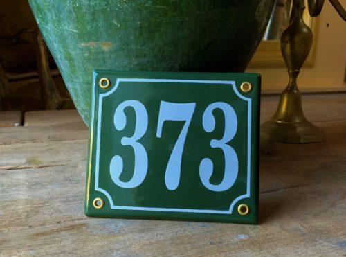 Bordje 373 Groen 13x15