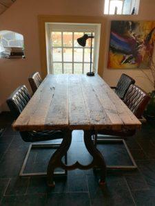Vintage tafel 98x192