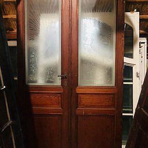Suite deuren geetst glas 03