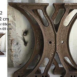 Industrie poten Alexis 725x685mm