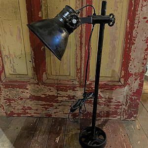 Industriële zwarte lamp 35x70